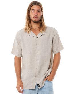 FADED GREY MENS CLOTHING THRILLS SHIRTS - TH8-205GFGRY