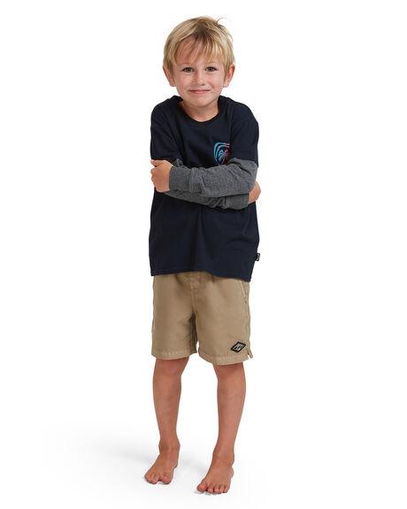 NAVY KIDS BOYS BILLABONG TOPS - 7513172-NVY