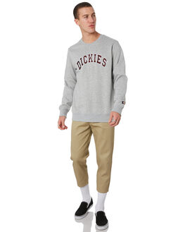 GREY MARLE MENS CLOTHING DICKIES JUMPERS - K3190302GYML