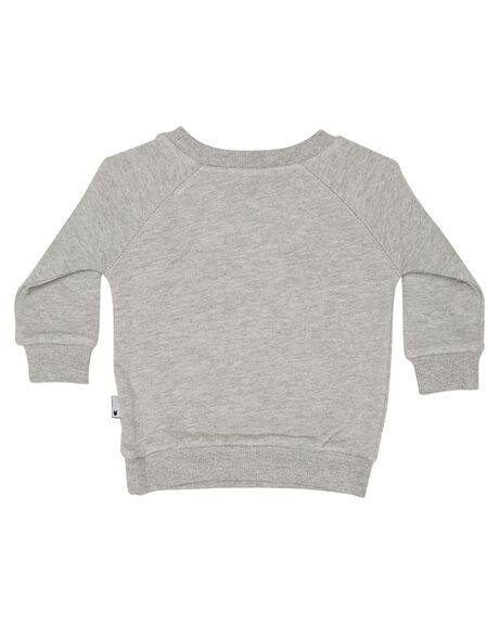 GREY MARLE KIDS BABY MUNSTER KIDS CLOTHING - MI172FL04GRYM