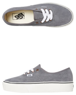 GREY WOMENS FOOTWEAR VANS SNEAKERS - SSVNA3AV8V7PW