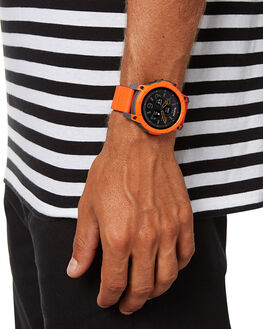 ORANGE GREY BLACK MENS ACCESSORIES NIXON WATCHES - A1167-2658-00ORGBK