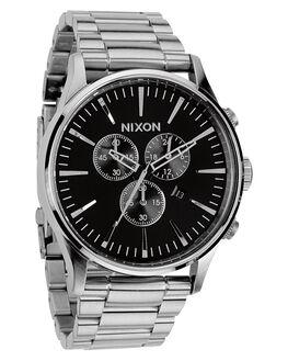 BLACK MENS ACCESSORIES NIXON WATCHES - A386000