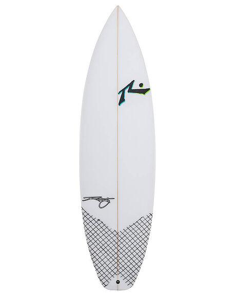 CLEAR BOARDSPORTS SURF RUSTY SURFBOARDS - RUMAGICDOORCLR