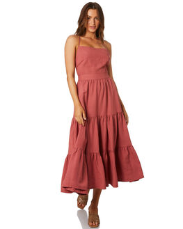 ROSE WOMENS CLOTHING TIGERLILY DRESSES - T305463ROS