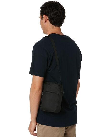 BLACK MENS ACCESSORIES AS COLOUR BAGS + BACKPACKS - 1016BLK