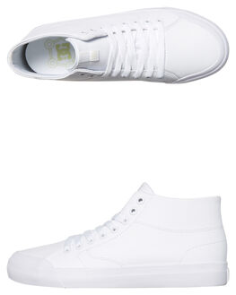 WHITE MENS FOOTWEAR DC SHOES SNEAKERS - ADYS300423103