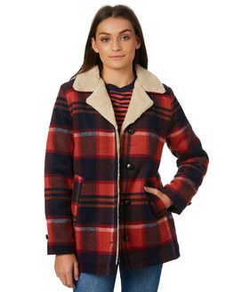 FORE CHECK WOMENS CLOTHING ROLLAS JACKETS - 12575CHECK