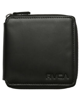 BLACK MENS ACCESSORIES RVCA WALLETS - R172603ABLK