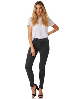 OLD BLACK WOMENS CLOTHING DR DENIM JEANS - 1130101-108