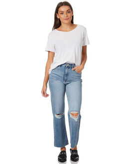 THE RIP WOMENS CLOTHING A.BRAND JEANS - 71164TRIP
