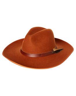 BURNT ORANGE MENS ACCESSORIES FALLENBROKENSTREET HEADWEAR - 8702BTOR