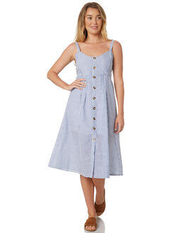STRIPEOUT WOMENS CLOTHING SASS DRESSES - 12733DWSSSTRP