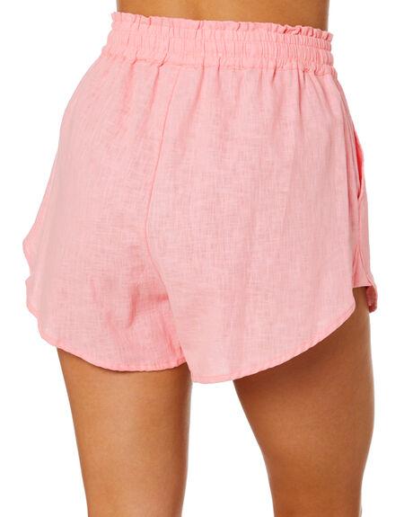 PINK BLOSSOM WOMENS CLOTHING RUE STIIC SHORTS - EXC-SST-09-13-PBL