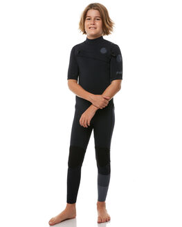 BLACK SURF WETSUITS RIP CURL STEAMERS - WSM8JB0090