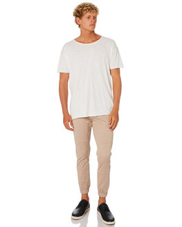 KHAKI MENS CLOTHING ACADEMY BRAND PANTS - 19S103KHA