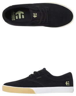 BLACK WHITE MENS FOOTWEAR ETNIES SKATE SHOES - 4101000449-968