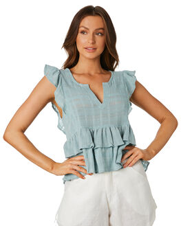 SKY WOMENS CLOTHING LILYA FASHION TOPS - CCT75SKY