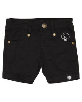 BLACK KIDS TODDLER BOYS LITTLE LORDS SHORTS - SS18015BLK