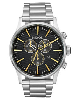 BLACK STAMPED GOLD MENS ACCESSORIES NIXON WATCHES - A386-2730