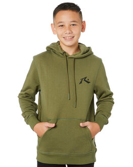 FOUR LEAF CLOVER KIDS BOYS RUSTY JUMPERS + JACKETS - FTB0286FLCL