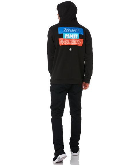 BLACK MENS CLOTHING ST GOLIATH JUMPERS - 4330071BLK