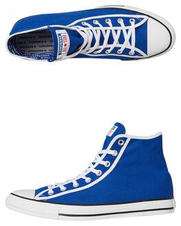BLUE WOMENS FOOTWEAR CONVERSE SNEAKERS - SS163979BLUW
