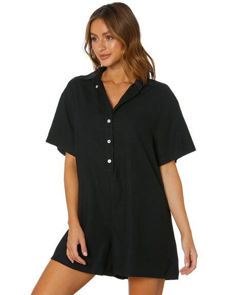 BLACK WOMENS CLOTHING SWELL PLAYSUITS + OVERALLS - S8212448BLACK