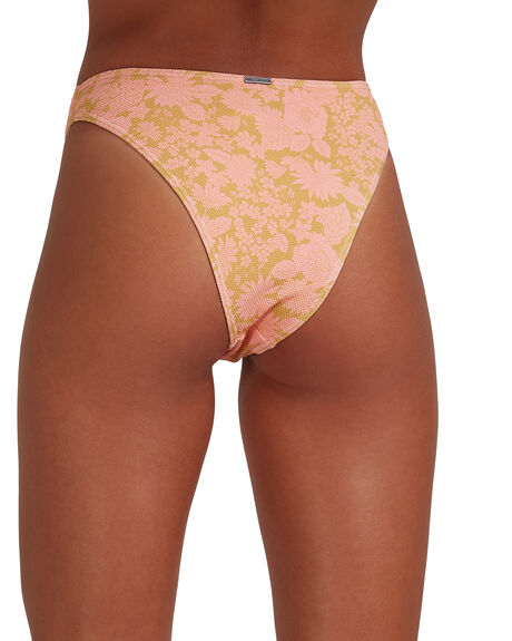 CORAL WOMENS SWIMWEAR BILLABONG BIKINI BOTTOMS - BB-6517942-COR