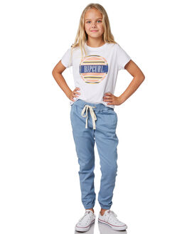 LIGHT BLUE KIDS GIRLS RIP CURL PANTS - JPAAW11080