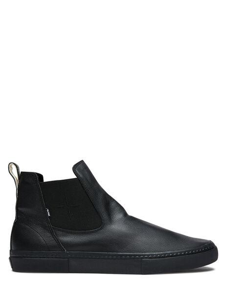 BLACK MENS FOOTWEAR GLOBE SNEAKERS - GBDOVERII20456