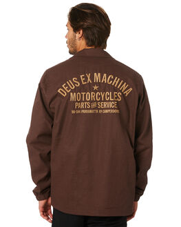 FRENCH ROAST MENS CLOTHING DEUS EX MACHINA JACKETS - DMP96778EFRNCH