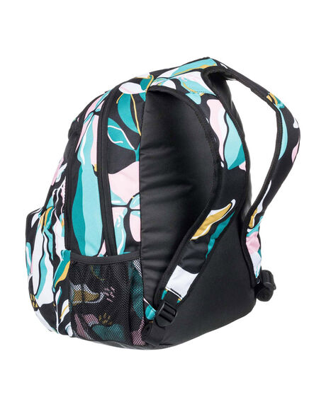 ANTHRACITE PARADISO WOMENS ACCESSORIES ROXY BAGS + BACKPACKS - ERJBP04356-KVJ8
