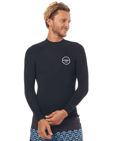 BLACK SURF WETSUITS XCEL VESTS - MN150ZW7BLK
