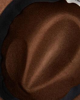 BROWN MENS ACCESSORIES RHYTHM HEADWEAR - ACC00M-HW01-BRO