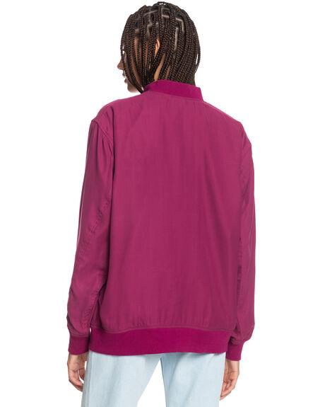RASPBERRY RADIANCE WOMENS CLOTHING QUIKSILVER JACKETS - EQWJK03023-MQY0
