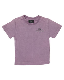 PURPLE KIDS TODDLER BOYS RIP CURL TEES - OTEMS20037