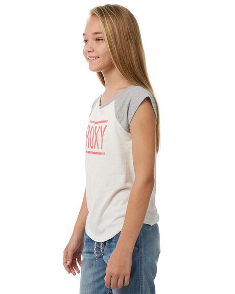 MARSHMALLOW KIDS GIRLS ROXY TEES - ERGZT03267WBT0