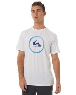 WHITE MENS CLOTHING QUIKSILVER TEES - EQYZT04653WBB0