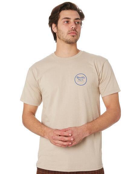 VANILLA MENS CLOTHING BRIXTON TEES - 06452VANIL