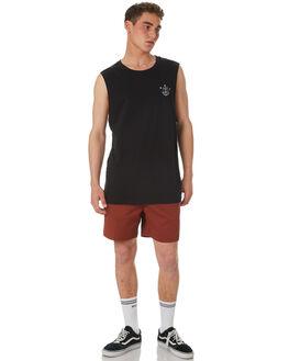 RUST MENS CLOTHING RVCA BOARDSHORTS - R182414RUS