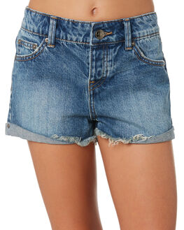 BLUE KIDS GIRLS RIP CURL SHORTS + SKIRTS - JWAAW10070