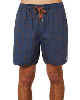NAVY MENS CLOTHING AFENDS BOARDSHORTS - M191352NVY