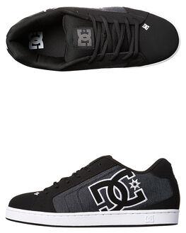 BLACK DARK USED MENS FOOTWEAR DC SHOES SNEAKERS - 302297BKZ