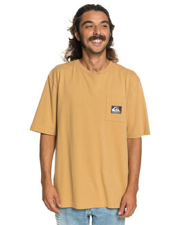 ICED COFFEE MENS CLOTHING QUIKSILVER TEES - EQYKT03987-CLL0