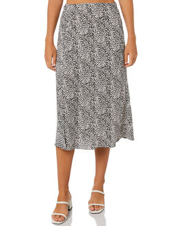 FLORAL WOMENS CLOTHING LULU AND ROSE SKIRTS - LU23902FLR
