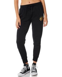 BLACK WOMENS CLOTHING SANTA CRUZ PANTS - SC-WPB8620BLK