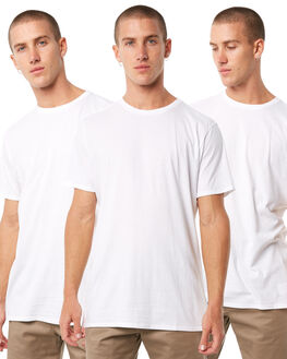 WHITE MENS CLOTHING SWELL TEES - S51640013PCKWHT