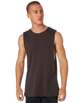 COAL MENS CLOTHING AS COLOUR SINGLETS - 5025COAL
