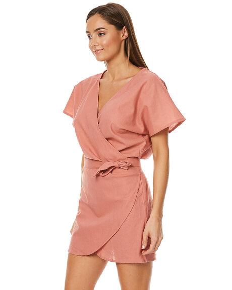 TERRACOTTA WOMENS CLOTHING LILYA DRESSES - SMUTERR